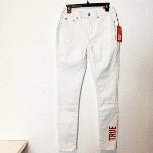 True Religion Womens Jennie High Rise Skinny Jeans